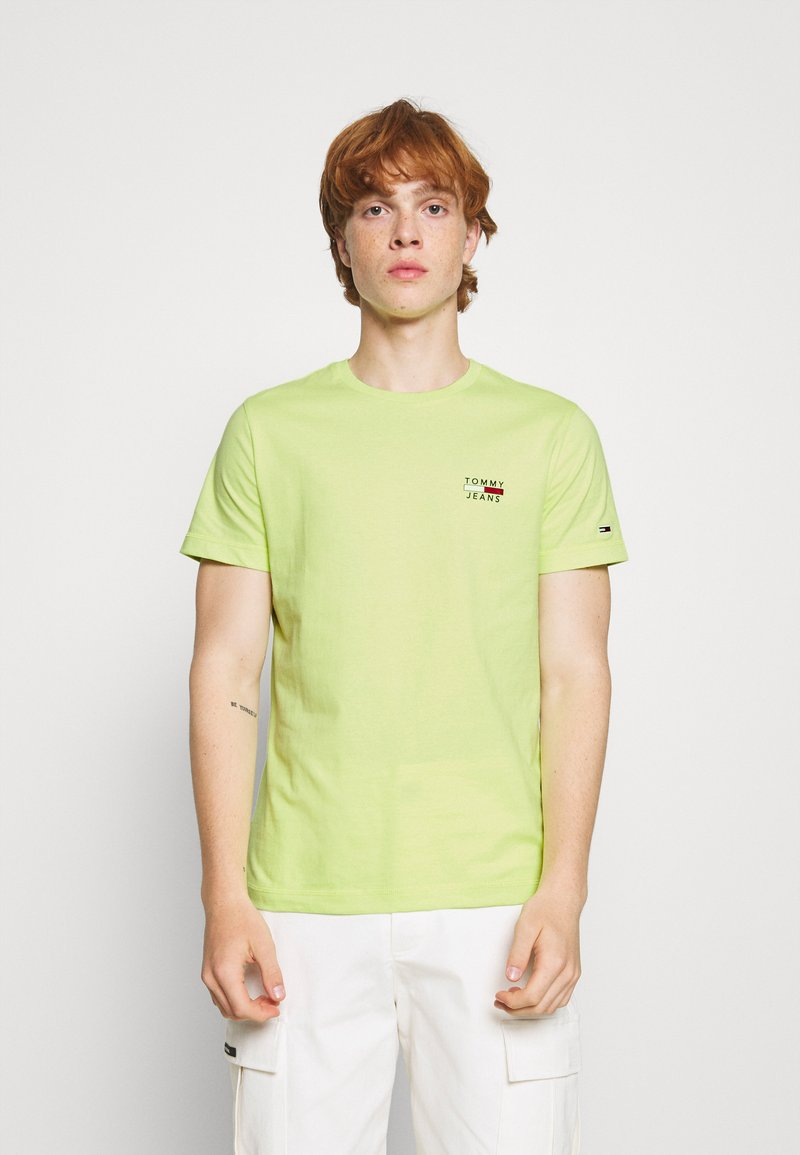 Tommy Jeans - CHEST LOGO TEE - Print T-shirt - green