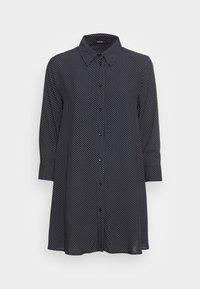 Opus - FARLA - Button-down blouse - mystic blue - 3