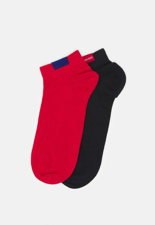 MEN LINER PATCH HARVEY 2 PACK - Socks - red