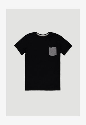 T-shirt print - black out