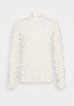 NANDO - Strickpullover - white