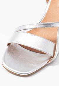 Shoe The Bear - ROSANNA STRAP - Sandals - silver - 2