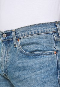 Levi's® - SLIM SHORT - Shorts di jeans - blue denim - 4