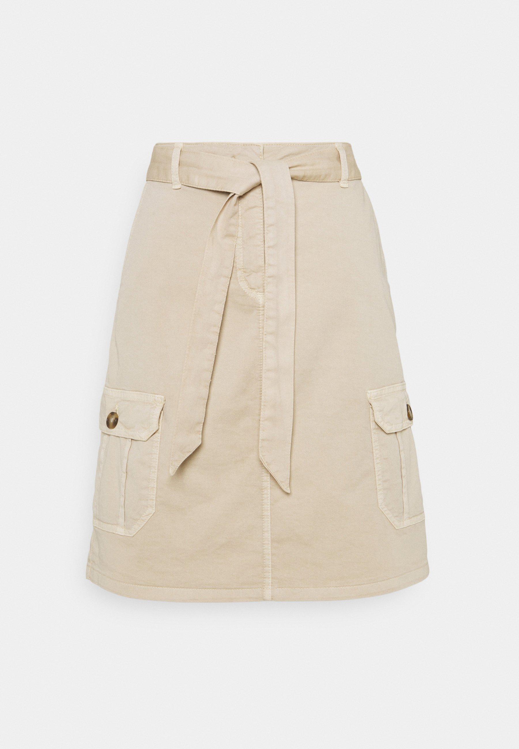 Women SKIRT SHORT - Denim skirt