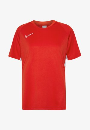 DRY ACADEMY 19 - Print T-shirt - university red/white