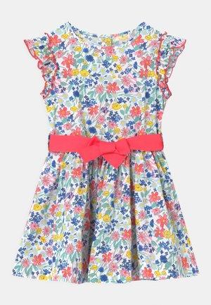 MARIVONE - Shirt dress - marshmallow/multicolour