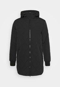 UNDERLAYER JACKET - Short coat - black