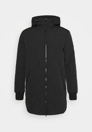 UNDERLAYER JACKET - Kurzmantel - black