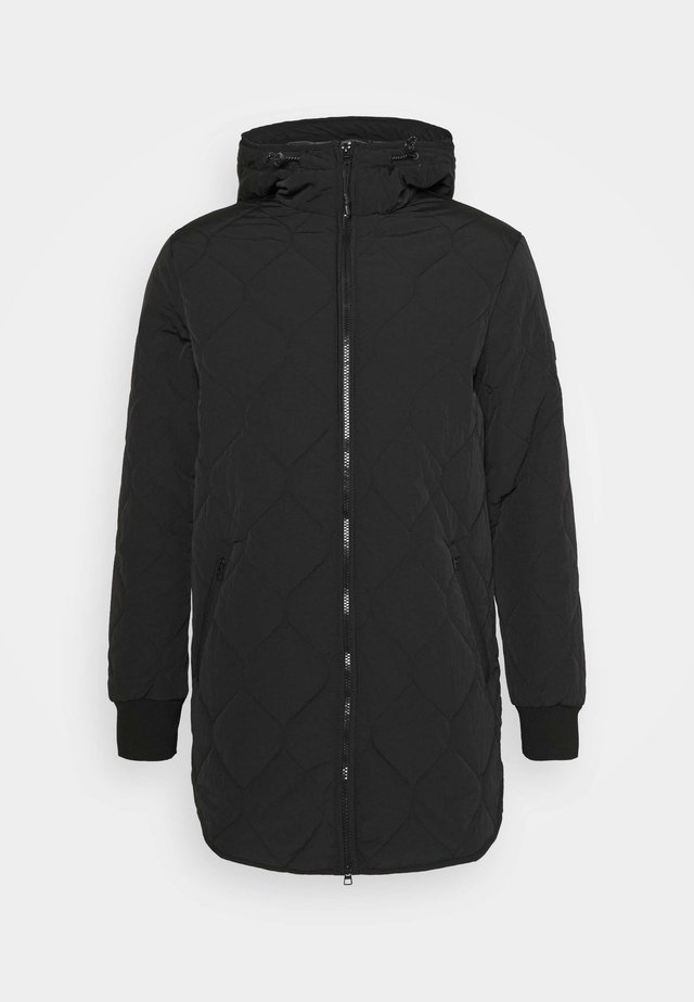 UNDERLAYER JACKET - Abrigo corto - black