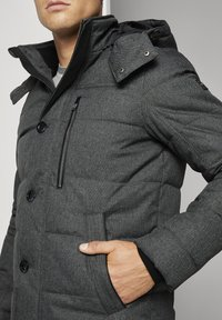 TOM TAILOR - Winterjas - mid grey structure - 4