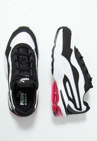 Puma - CELL STELLAR - Sneakersy niskie - white/black - 3