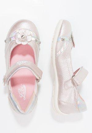 MONA - Ankle strap ballet pumps - rosa