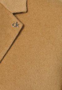 Calvin Klein - DOUBLE FACE COAT - Classic coat - hazel melange - 3