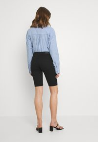JDY - CITY - Denim shorts - black denim - 2