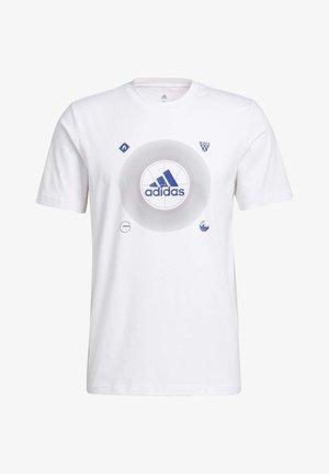 BOS ICONS - Print T-shirt - white