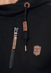 INDICODE JEANS - ELM - Zip-up hoodie - black - 5