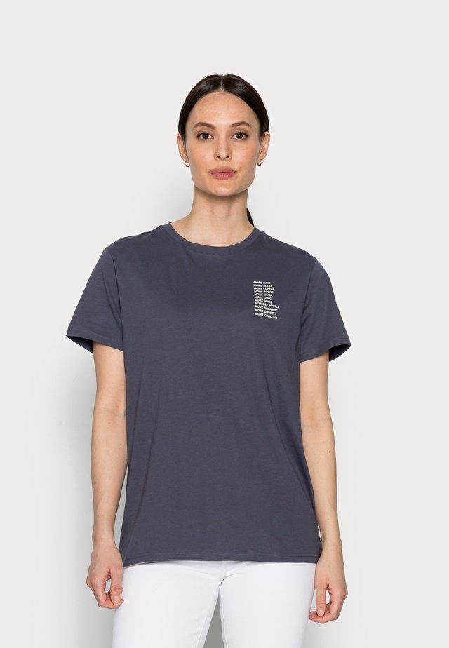 Jednoduché triko - odyssey gray