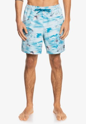 Swimming shorts - fjord blue island hopper