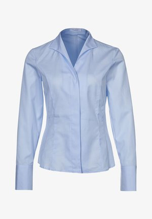 ALICE - Button-down blouse - light blue