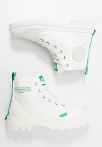 Palladium - PAMPA DARE SAFETY - Lace-up ankle boots - starwhite - 1