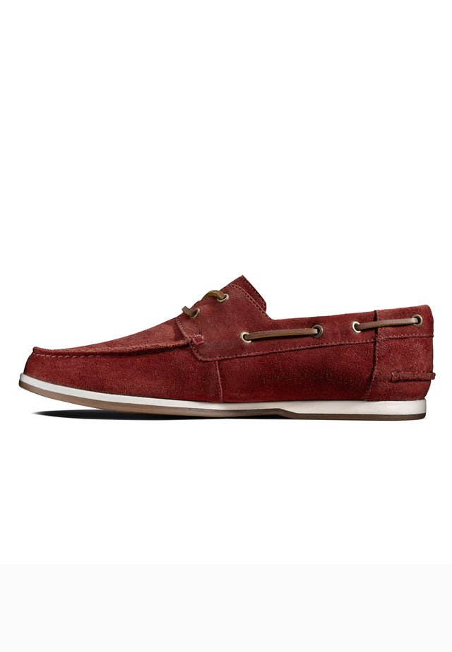 PICKWELL SAIL - Bootschoenen - rotes