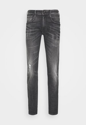 ANBASS AGED - Slim fit jeans - medium grey