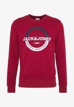 JCOSTRONG CREW NECK - Sweatshirt - rio red/melange
