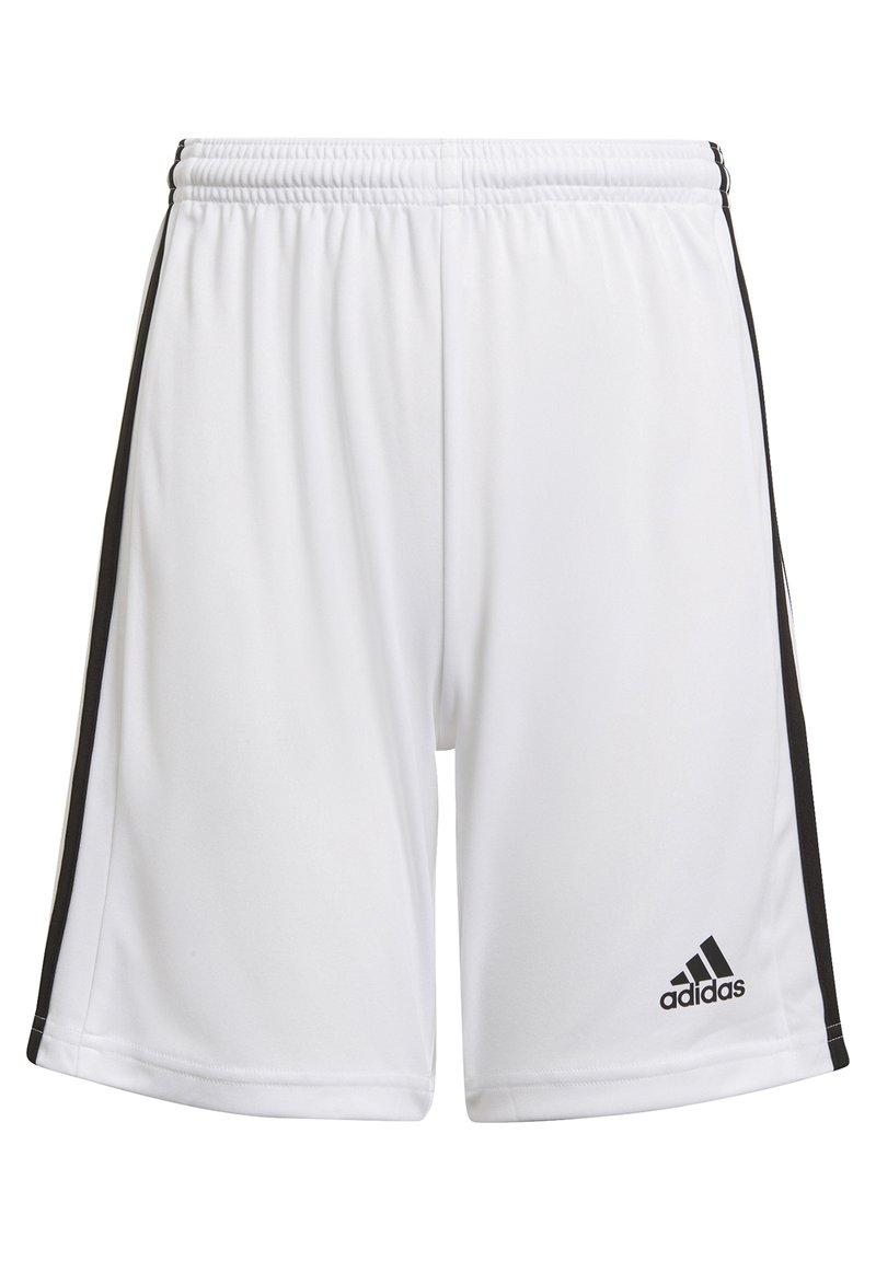 adidas Performance - SQUAD UNISEX - Krótkie spodenki sportowe - white