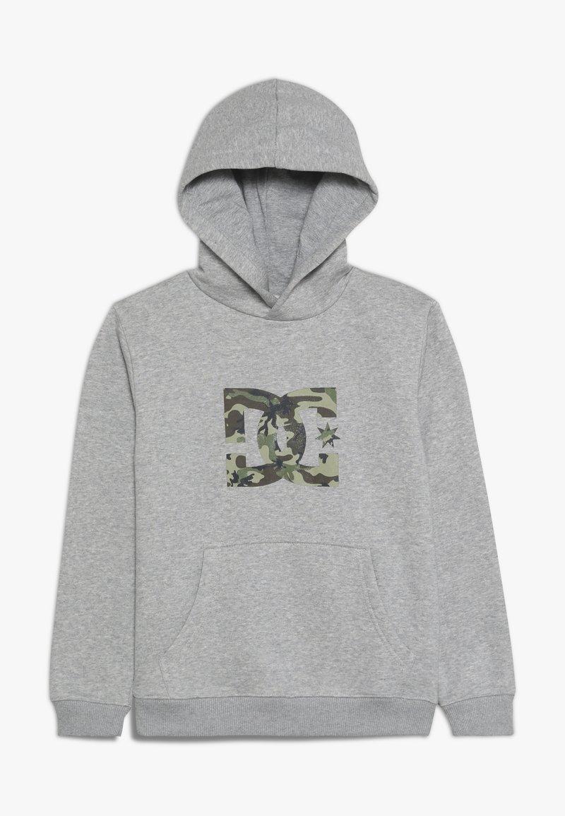 DC Shoes - STAR BOY - Hættetrøjer - grey heather