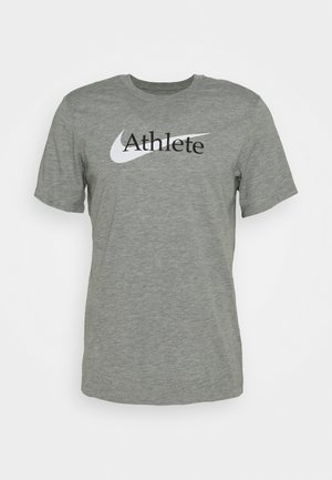 TEE ATHLETE - T-shirts print - dark grey heather