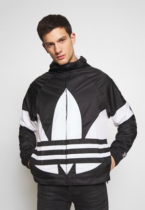 BIG TREFOIL  - Windbreaker - black