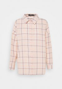 Missguided - CHECK - Button-down blouse - pink - 0