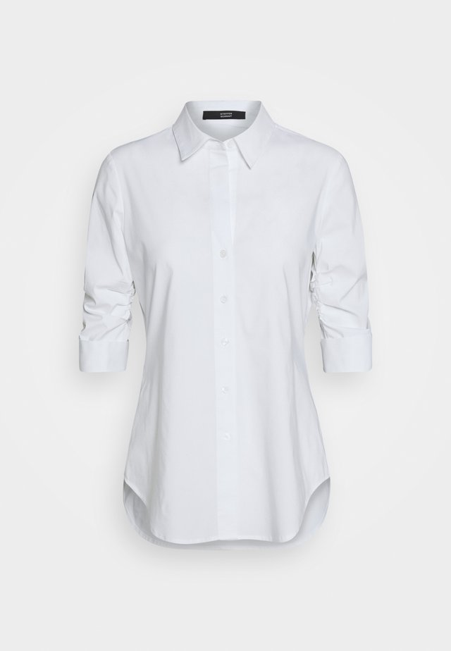 THE ESSENTIAL BLOUSE - Button-down blouse - white