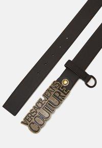 Versace Jeans Couture - Pasek - black/gunmetal - 2