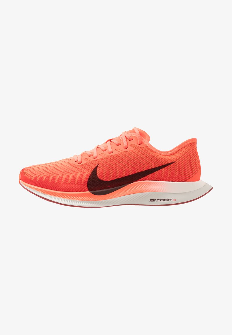 Nike Performance - ZOOM PEGASUS TURBO 2 - Neutral running shoes - bright crimson/mahogany/gym red/cedar/light bone