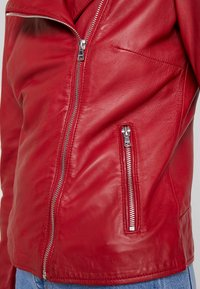 Ibana - WAVES - Leather jacket - red - 4