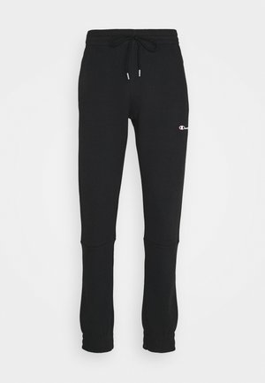 ELASTIC CUFF PANTS - Jogginghose - black