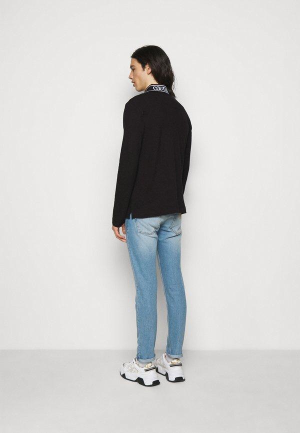 Versace Jeans Couture Koszulka polo - black/czarny Odzież Męska RXBI