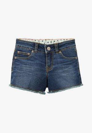 Denim shorts - mittleres vintageblau