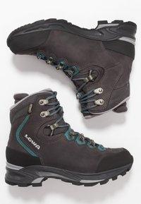 Lowa - MAURIA GTX - Chaussures de marche - anthrazit/petrol - 1