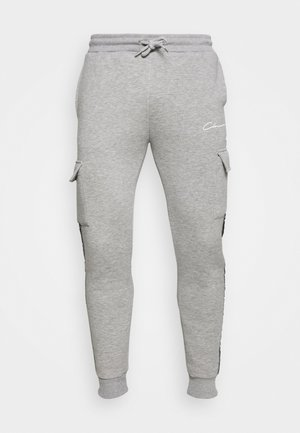 CONTRAST TAPEDUTILITY JOGGER - Cargo trousers - grey