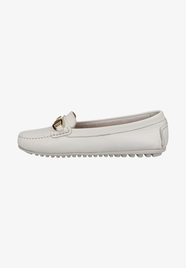 Moccasins - white