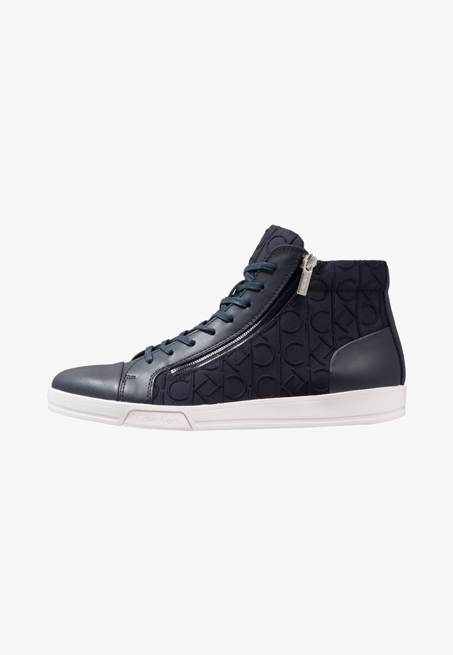 BERKE - High-top trainers - navy