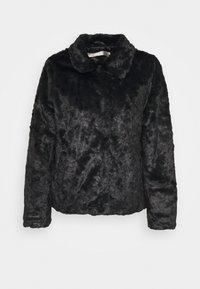 Esqualo - CRUSHED - Winter jacket - black - 0