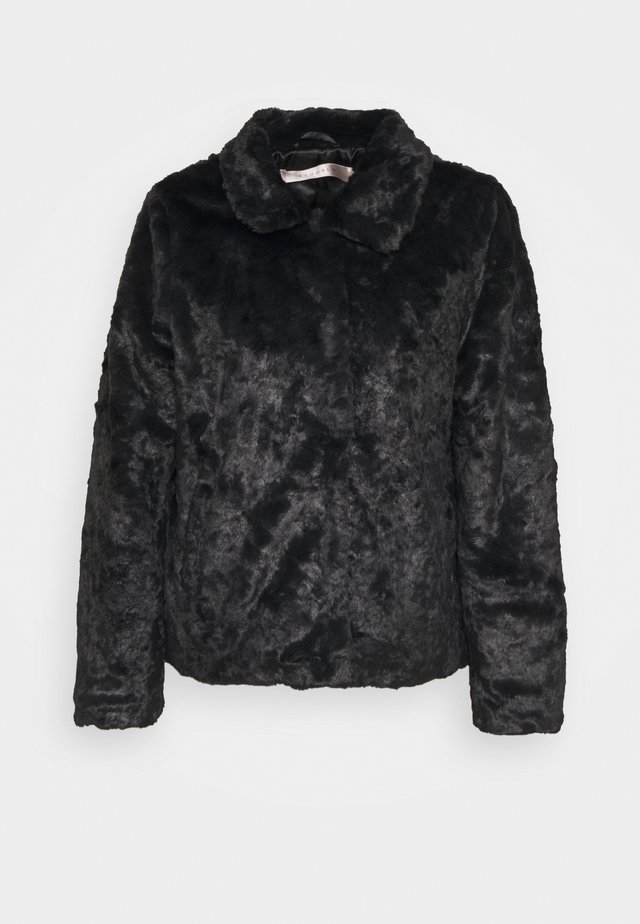 CRUSHED - Winterjas - black