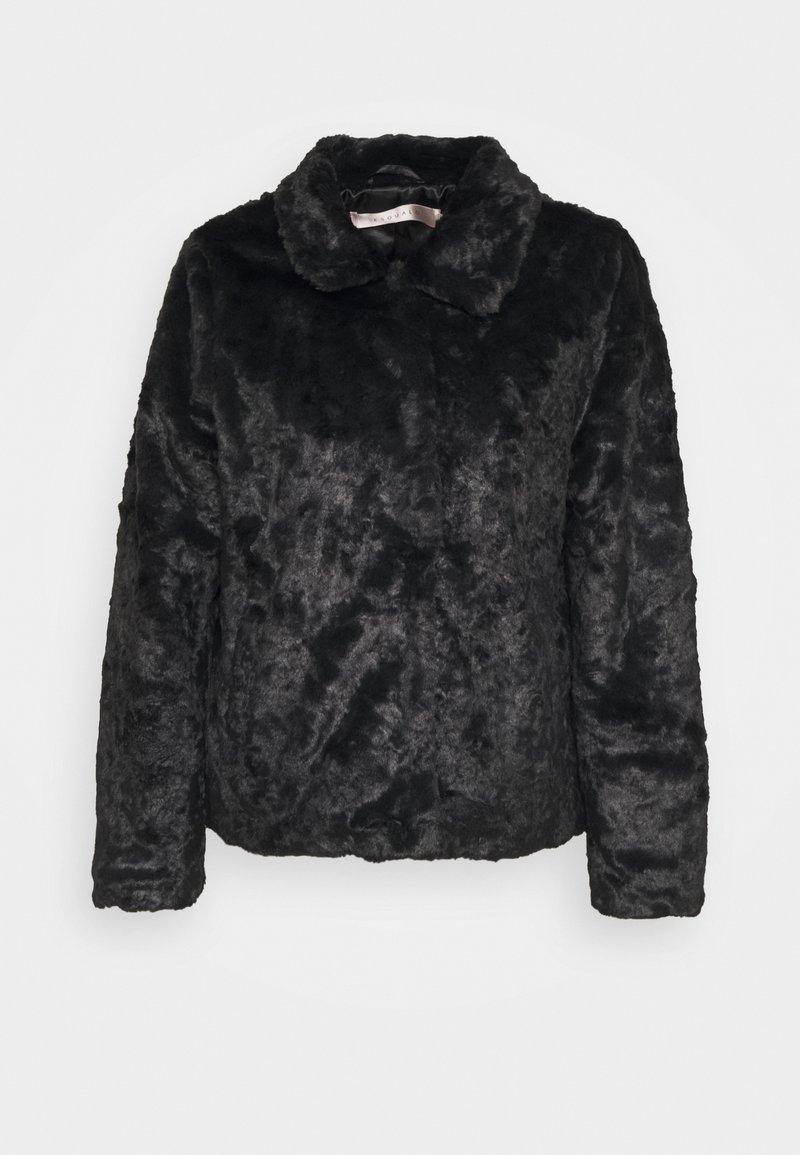 Esqualo - CRUSHED - Winter jacket - black