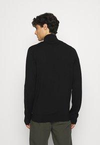 Tommy Hilfiger Tailored - LUXURY ZIP THROUGH - Cardigan - black - 2
