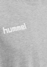 Hummel - HMLGO - Print T-shirt - grey melange - 2