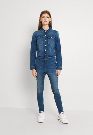 ONLCALLI LS - Overall / Jumpsuit - medium blue denim
