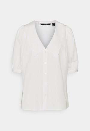 VMALLY COLLAR  - Button-down blouse - snow white